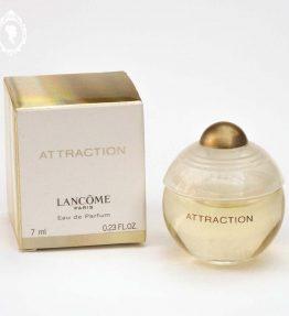 1 Miniature de parfum ATTRACTION de Lancôme NEUVE Eau de Parfum 7 ml