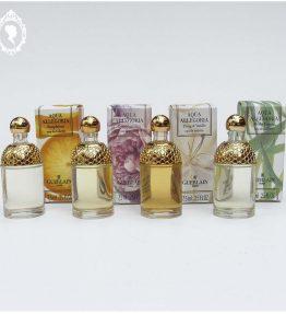 Lot 4 Miniatures de parfum Aqua Allégoria GUERLAIN Edt 7,5 ml NEUF