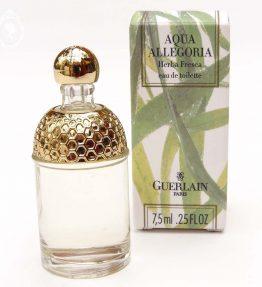 Miniature de parfum Aqua Allégoria Herba Fresca GUERLAIN Edt 7,5 ml NEUF