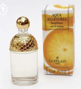 Miniature de parfum Aqua Allégoria Pamplelune de GUERLAIN Eau de toilette NEUF 7,5 ml