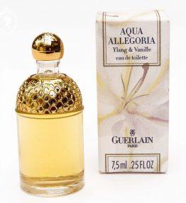Miniature de parfum Aqua Allégoria Ylang & Vanille de GUERLAIN Edt 7,5 ml NEUF