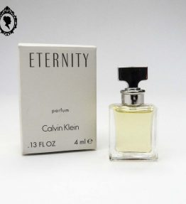 1 Miniature de parfum ETERNITY de Calvin Klein Parfum 4 ml NEUVE femme London