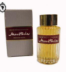 1 Miniature de parfum Moustache de Rochas Edt concentrée boite grise 8,5 ml Ancienne de collection